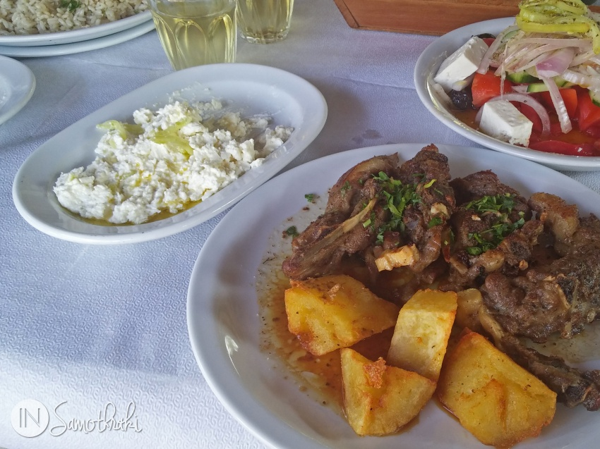 Eat local in Samothrace