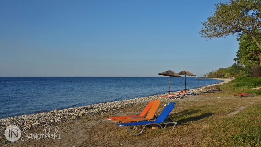 The beach at Archondissa Hotel