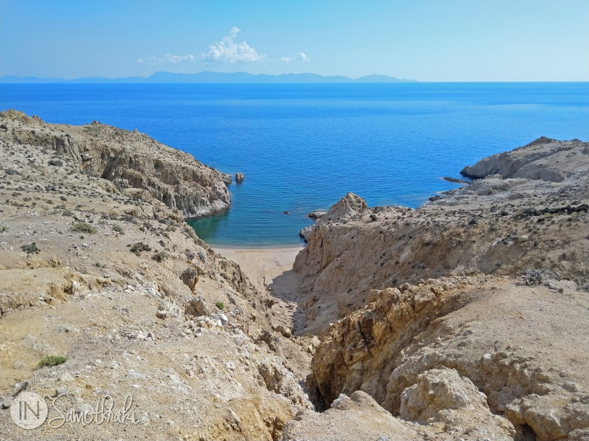 Wonderful beach in Samothrace
