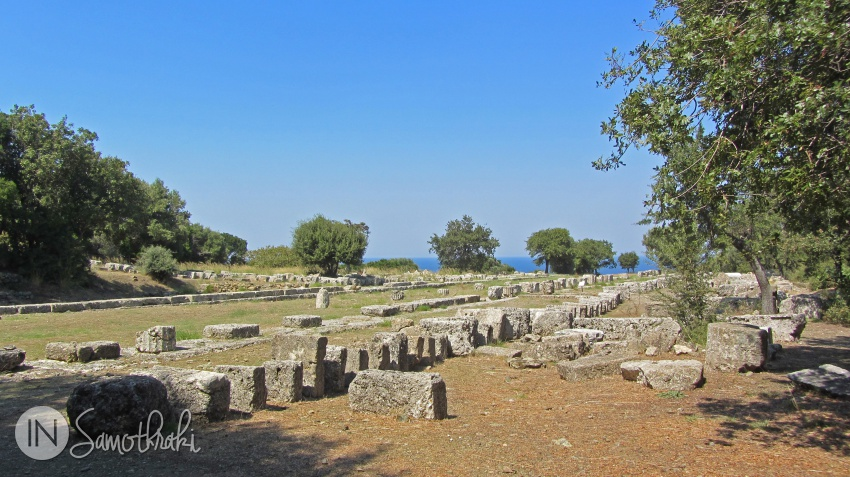 The ancient town of Samothrace