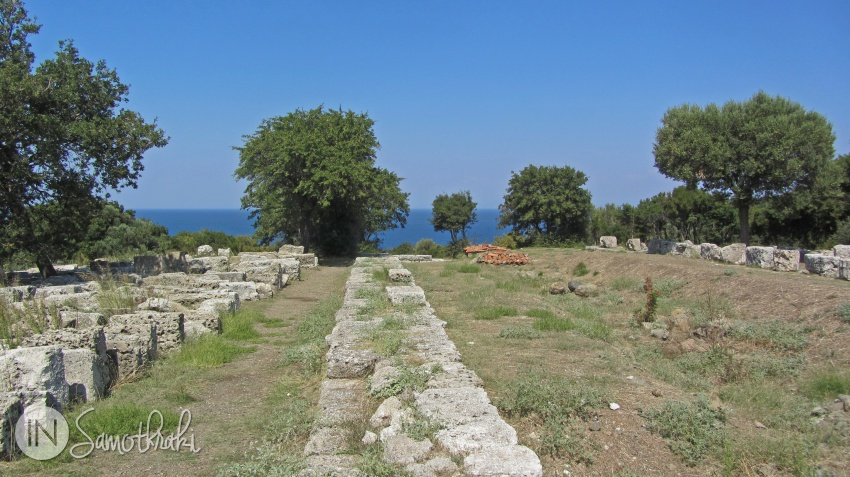 The archaeological site of Samothrace