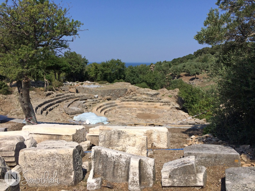 The Theater of Samothrace