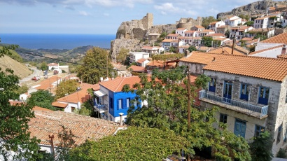 Chora, the perched capital of Samothrace